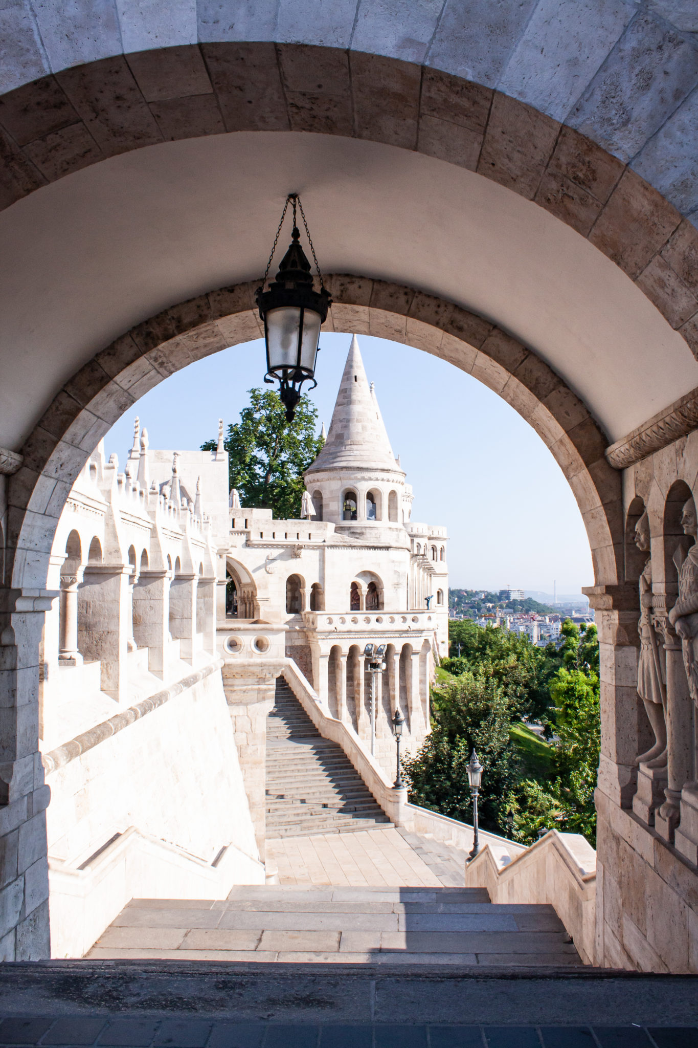 best places to visit in Budapest: towers fisherman´s bastion