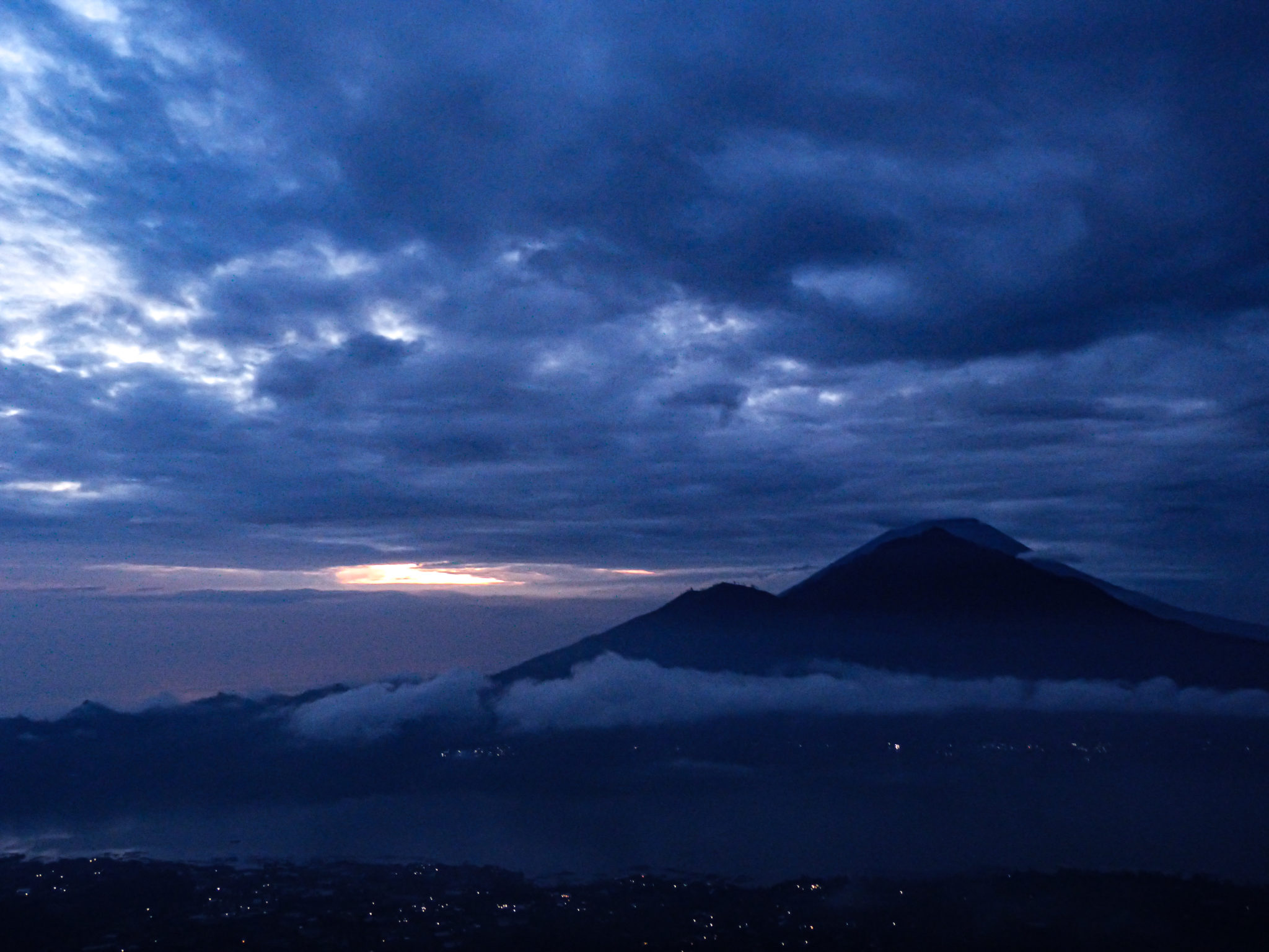 Sunrise at Mount Batur: a must do on a Bali travel route