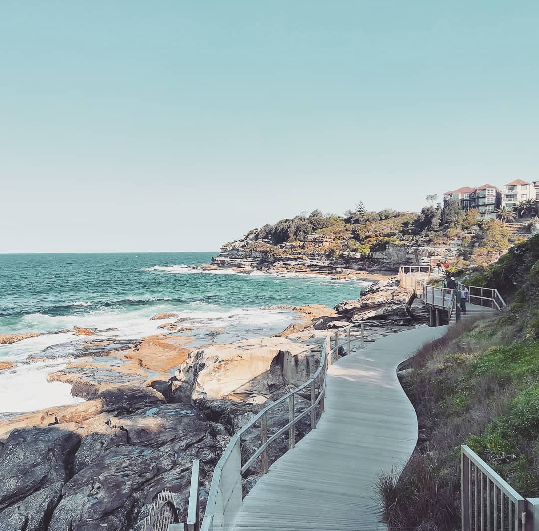 Bondi to coggee walk, a great thing to do in Sydney on a budget