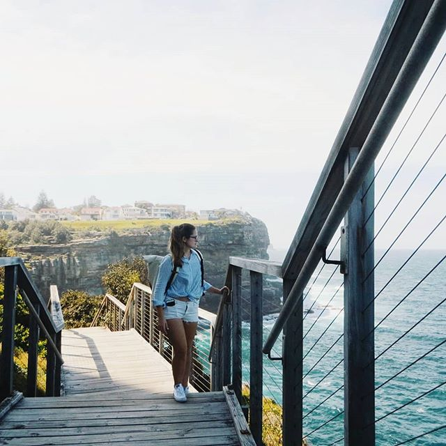 Diamond Bay stairs: A walk for free to experience Sydney on a budget