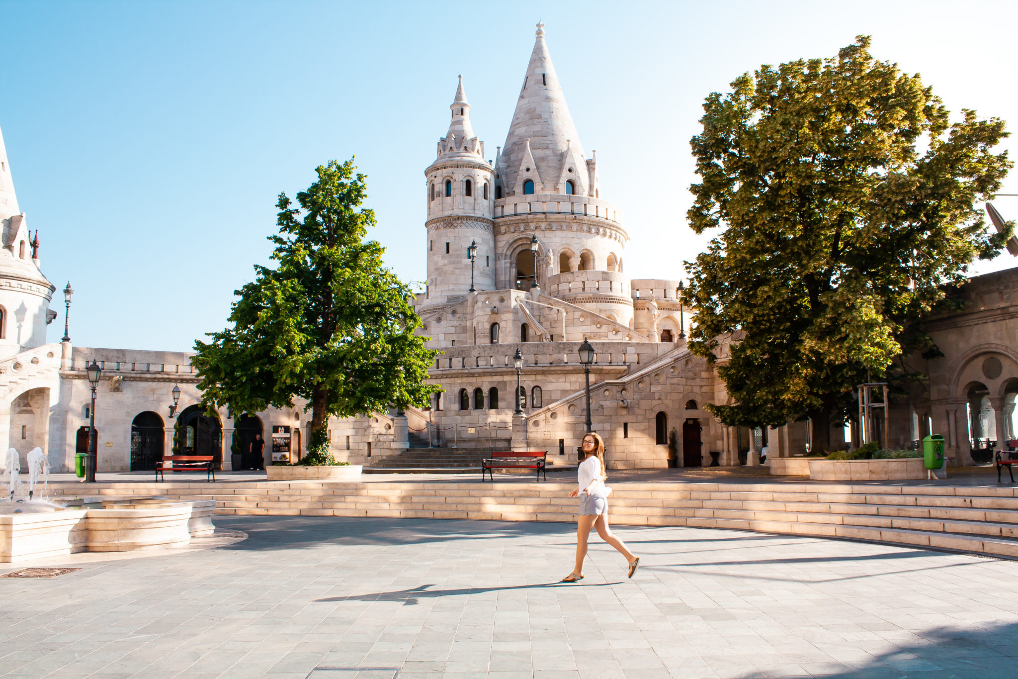 places visit in budapest: Fisherman´s bastion