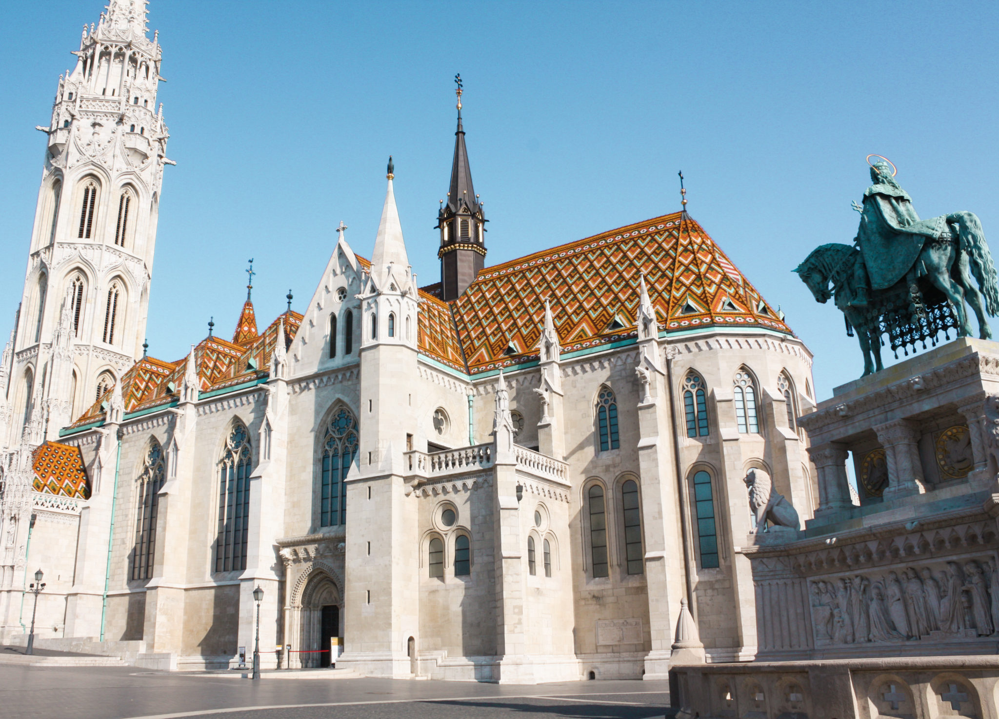 best places to visit in Budapest: matthias church