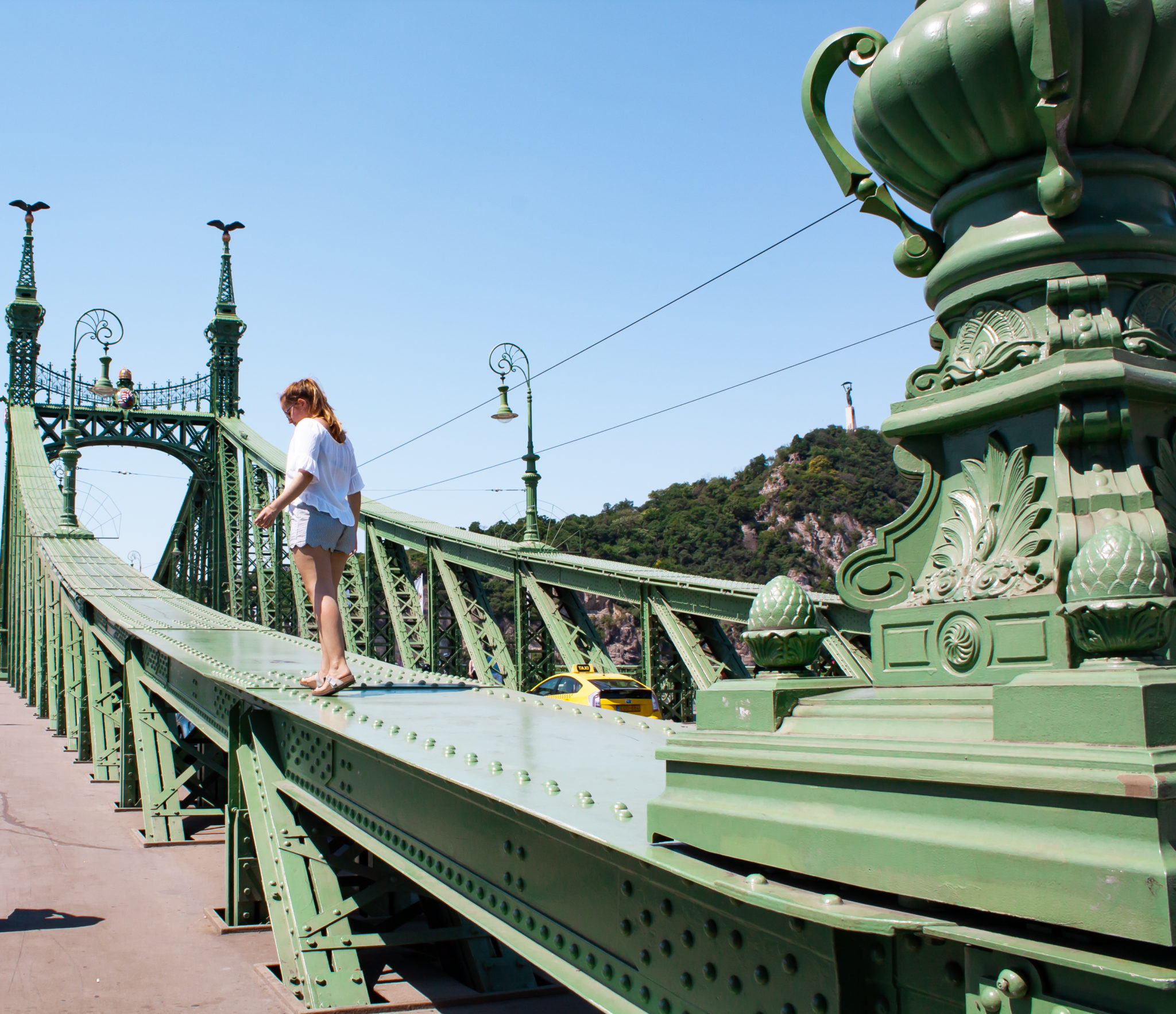 The best places to visit in Budapest: Liberty Bridge