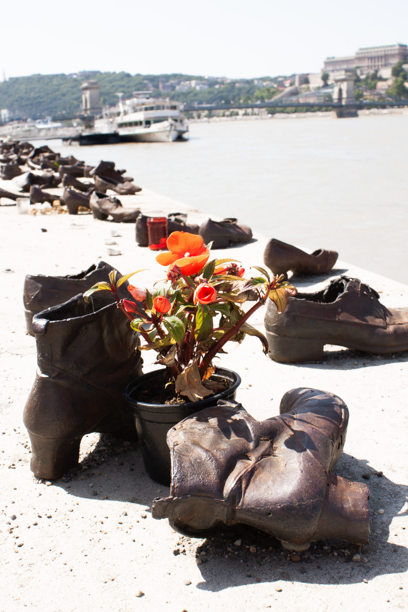 Best places to visit in Budapest: Shoes on the Danube