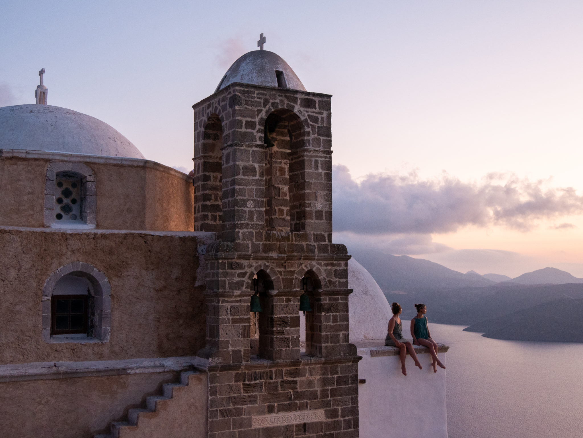 island hopping on the greek islands