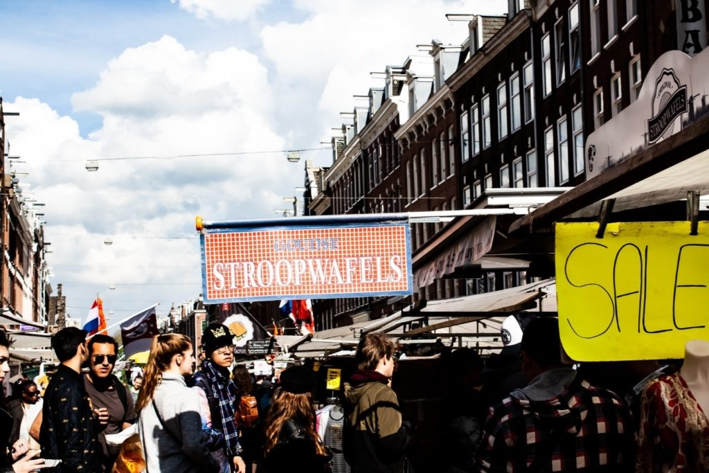 a great thing to do in Amsterdam: markets