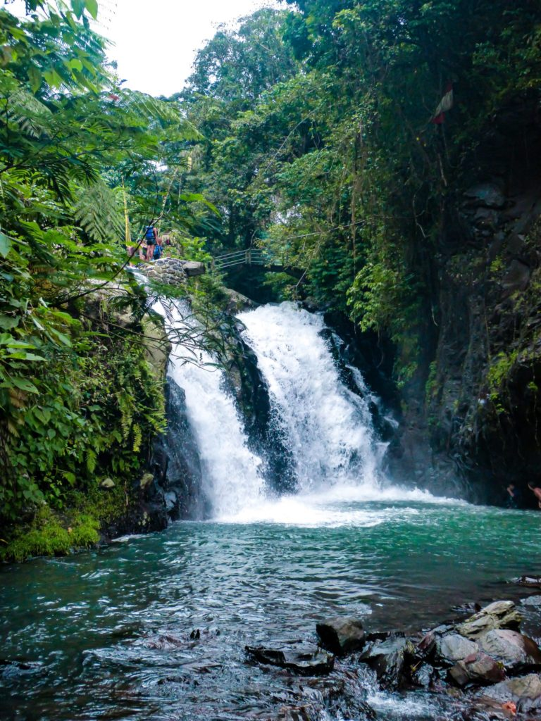 2 week Bali itinerary: Waterfalls in the secret garden