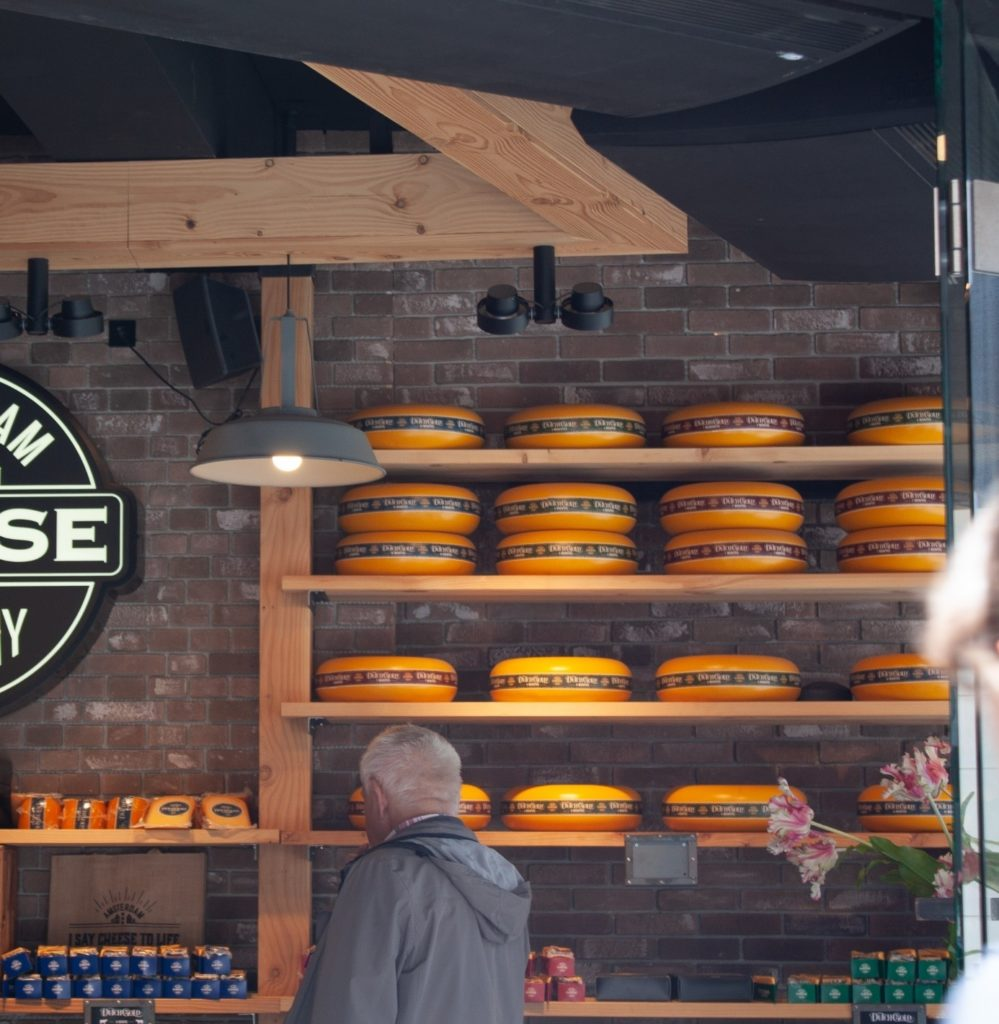 if you love cheese, a great thing to do in Amsterdam