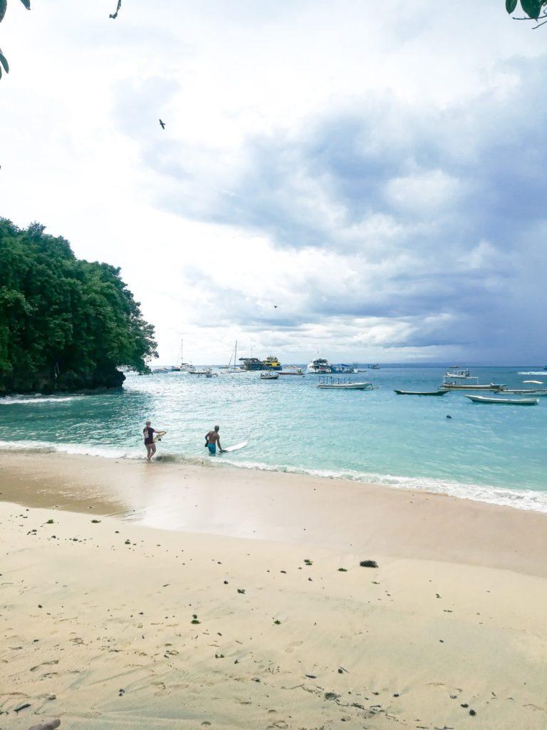 2 week Bali itinerary: Surfing spots in Nusa Lembongan,