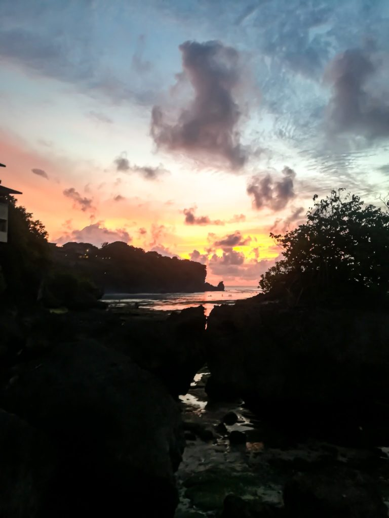 Sunsets in Uluwatu: beautiful end of the 2 week Bali itinerary