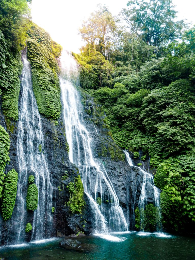 Twin waterfalls: 2 week Bali itinerary