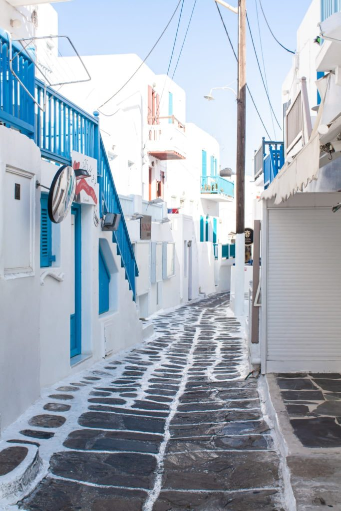 island hopping in greece: mykonos