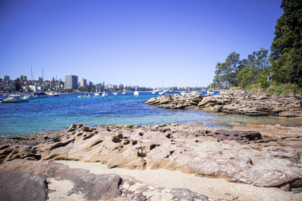 Forty Basket Beach on the Spit Bridge to Manly walk