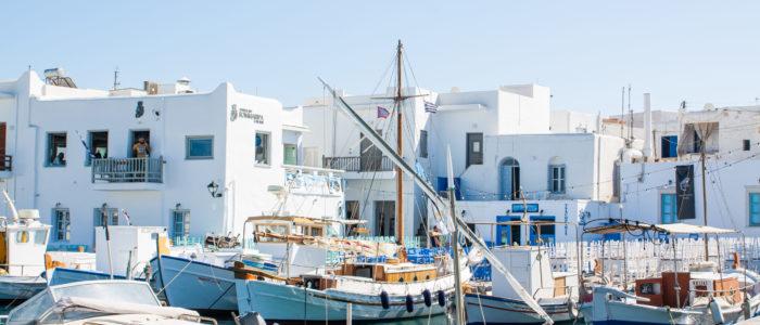 Travel guide to paros greece