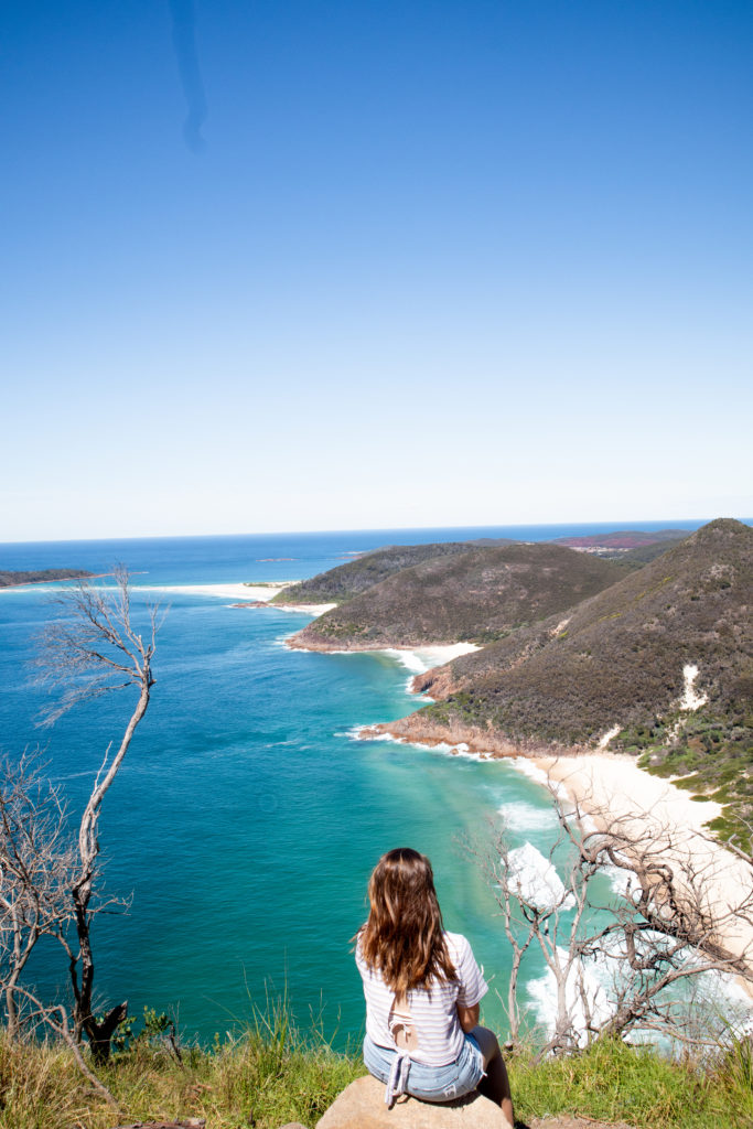 Port Stephens travel guide best views from Mt Tomaree head