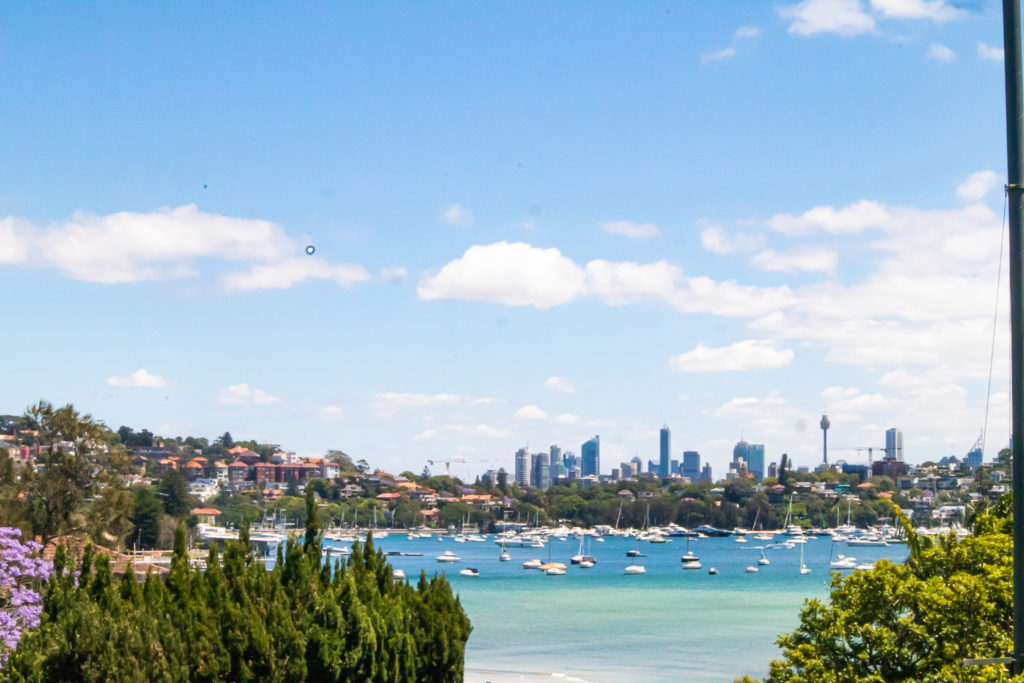 Views on the best walks of Sydney, the Rose Bay to Watsons Bay walk