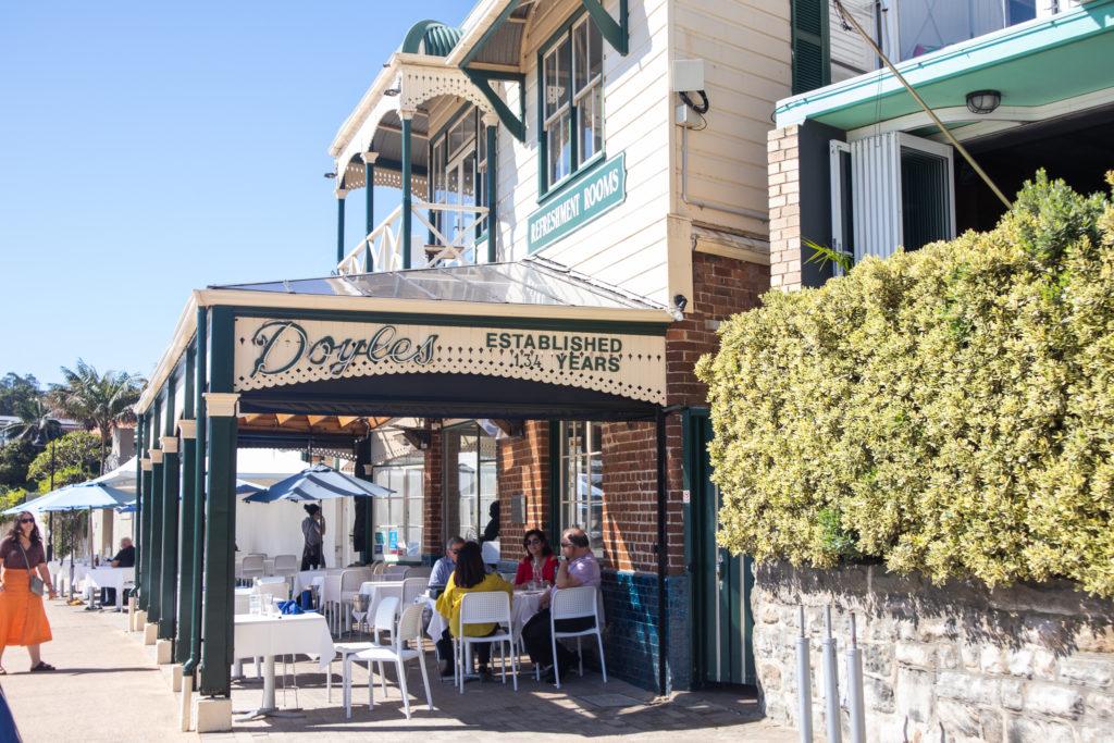 Restaurant in Watsons Bay