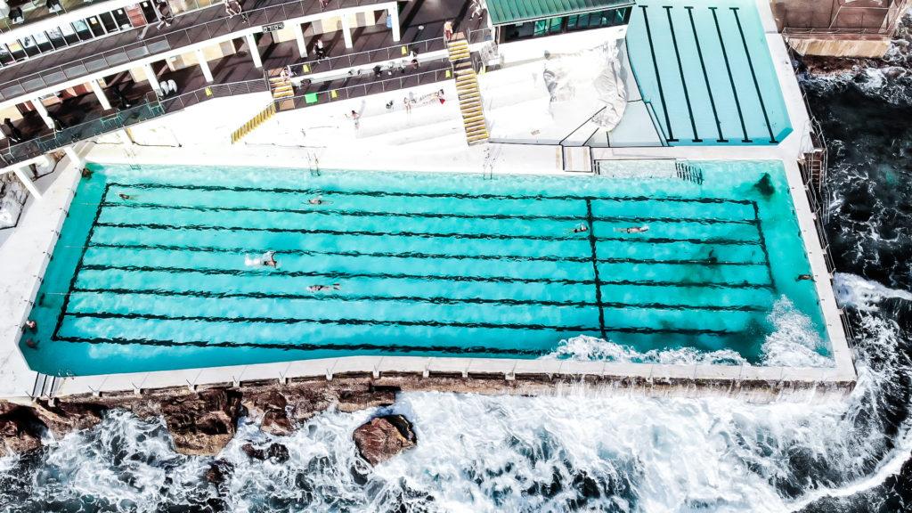 Bondi Icebergs> the best rockpools in Sydney