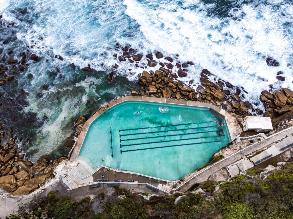 Bronte baths: the best rockpools in sydney