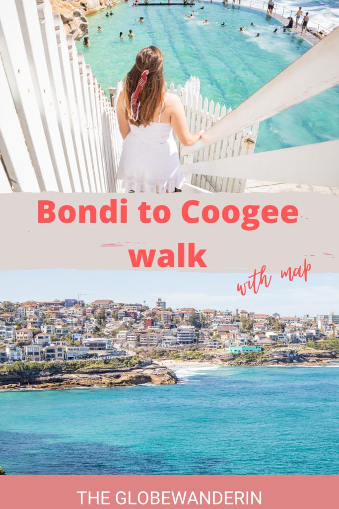 Bondi to coogee walk pin