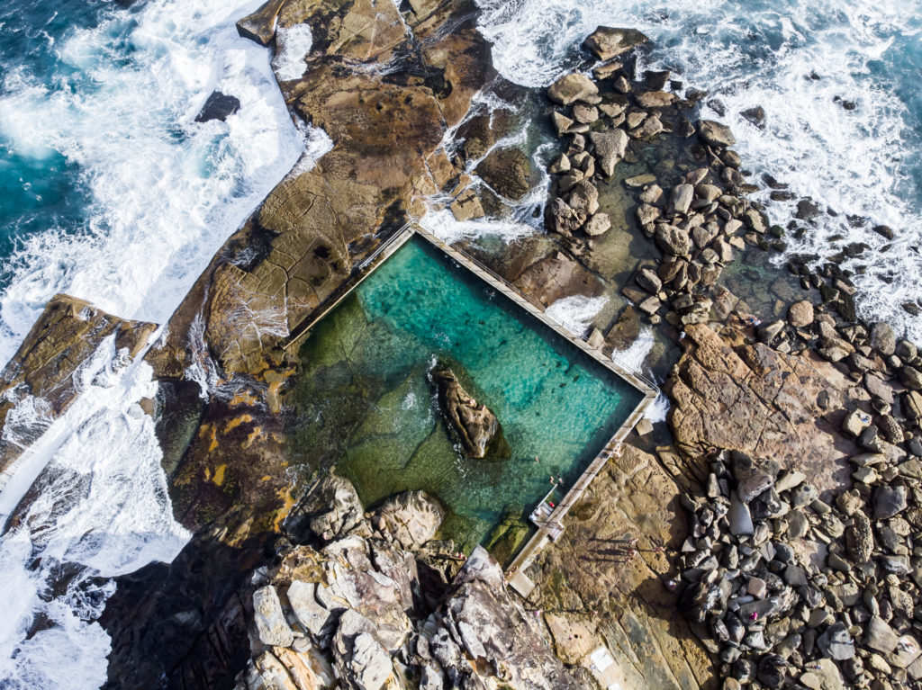 North Curl Curl: The best rockpools in sydney