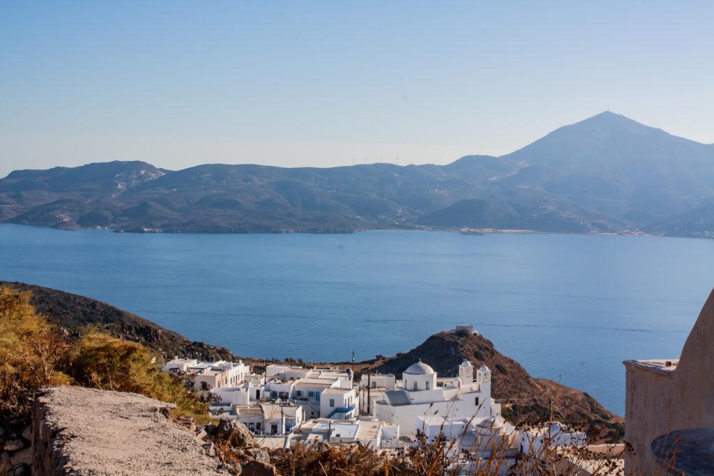 Milos Greece views from Plaka