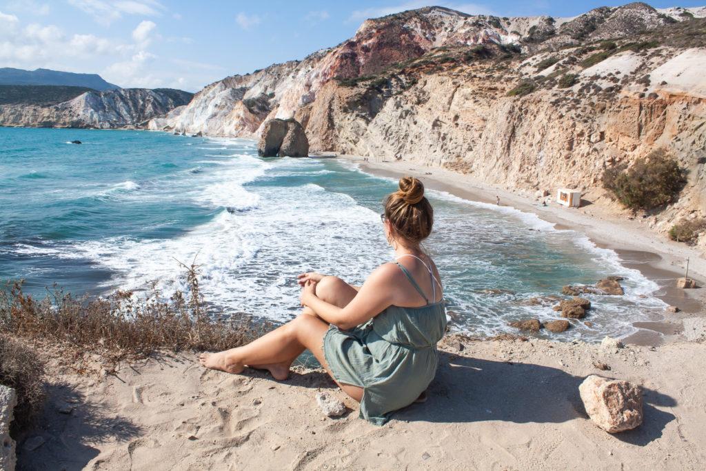 Milos Greece: Fyriplaka Beach