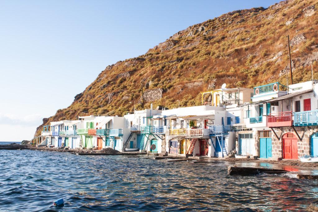 Milos Greece: Klima fishing village