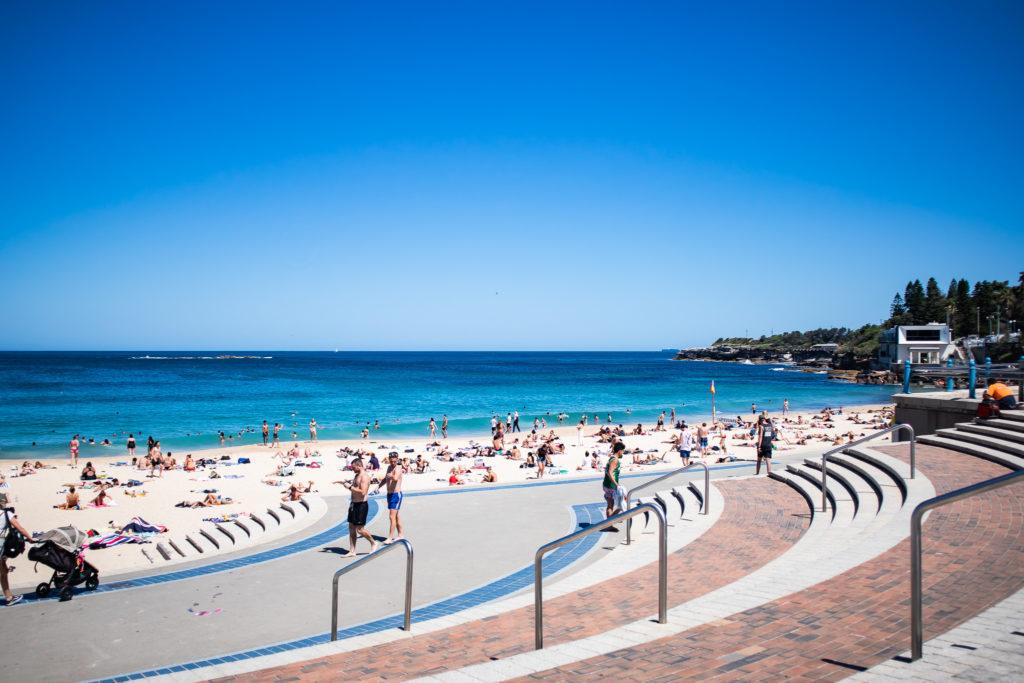 Bondi to Coogee walk: Coogee beach