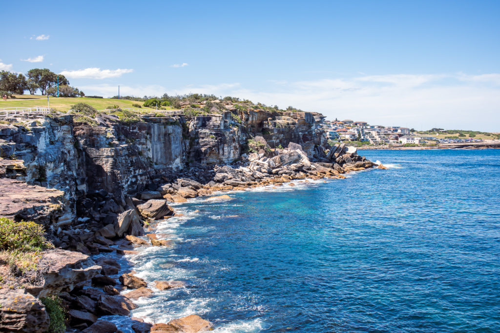 Bondi to Coogee walk: Dolphins point lookout