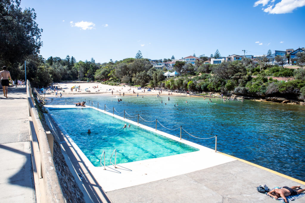 Bondi to Coogee walk: Pool at Clovelly