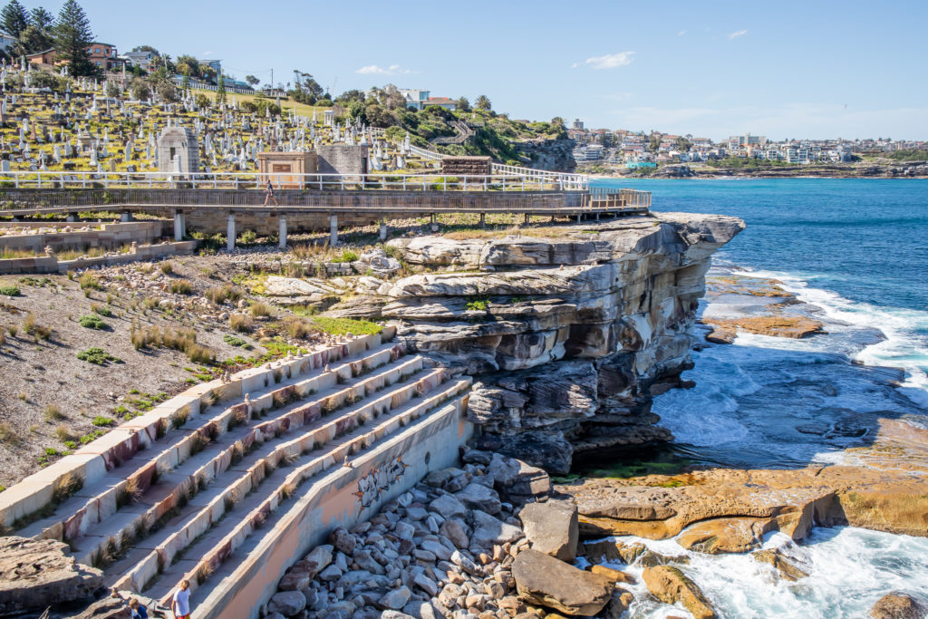 Bondi to Coogee walk: Lookout Waverly cemetery