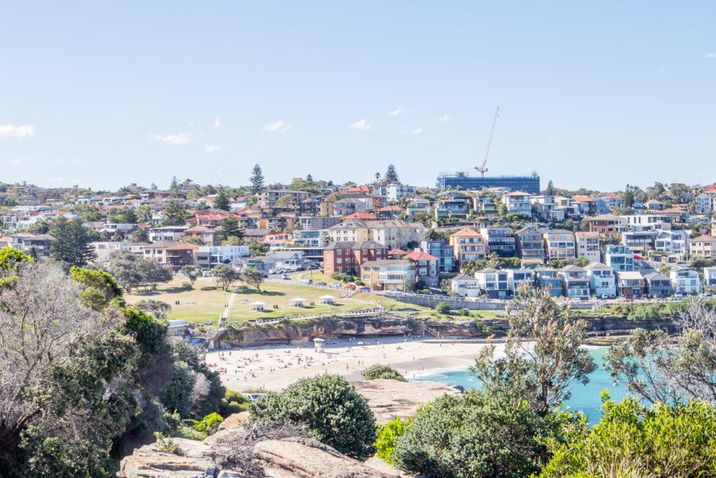 Bondi to Coogee walk: Bronte beach