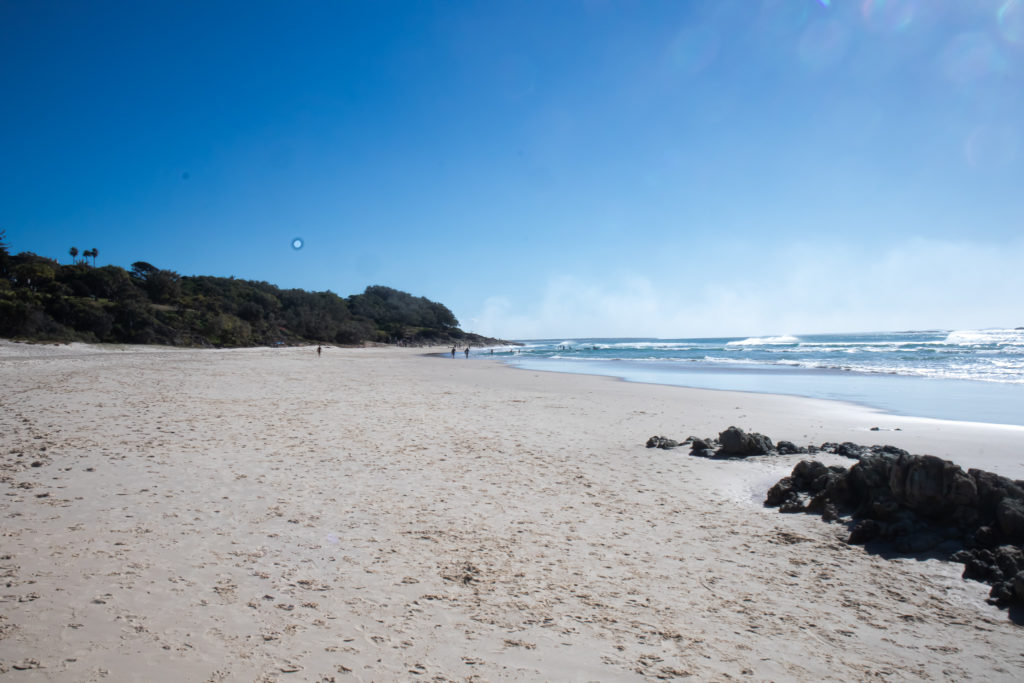 Day trip to north stradbroke island: Deadmans beach