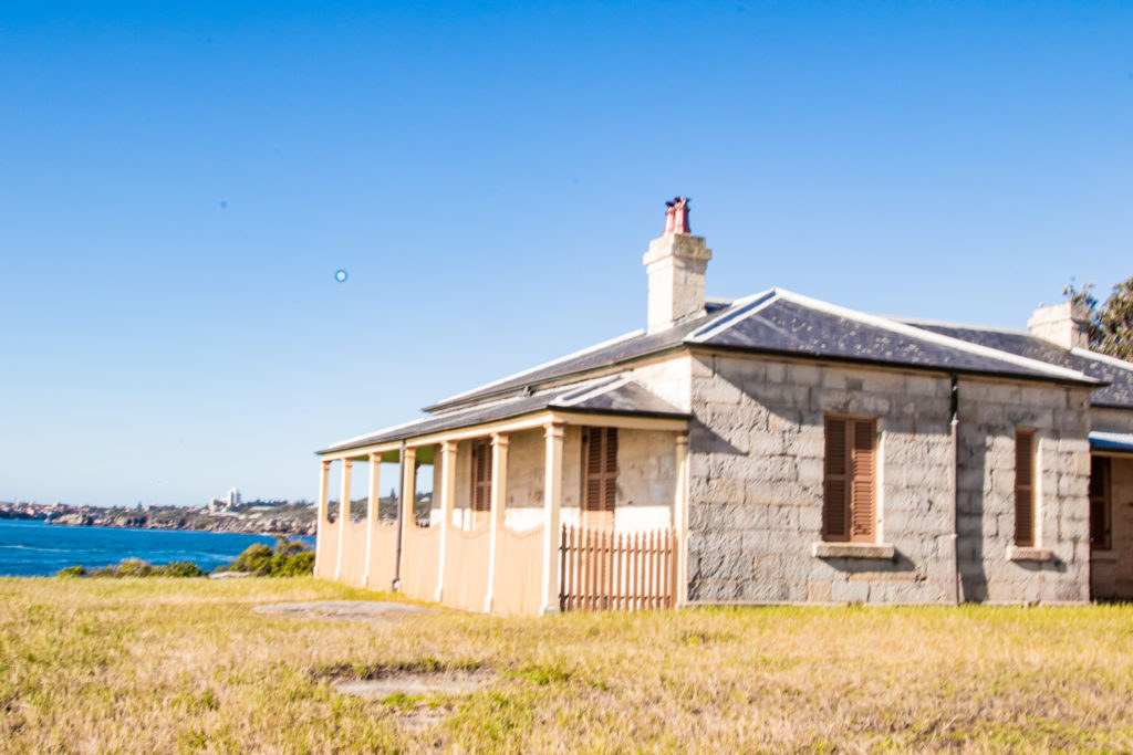 best walks in sydney: histroy, the keepers cottage