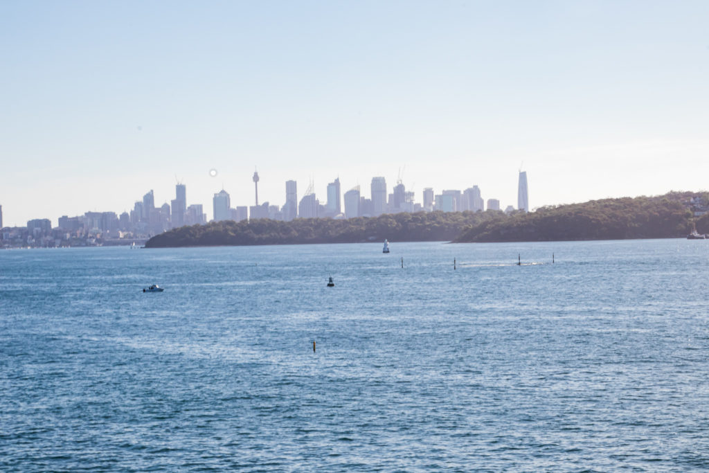city view on the best walk in sydney