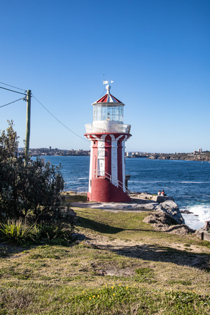 watsons bay walk: hornby lighthouse