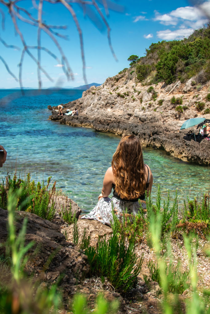 best places to visit in Tuscany: monte agentario beaches