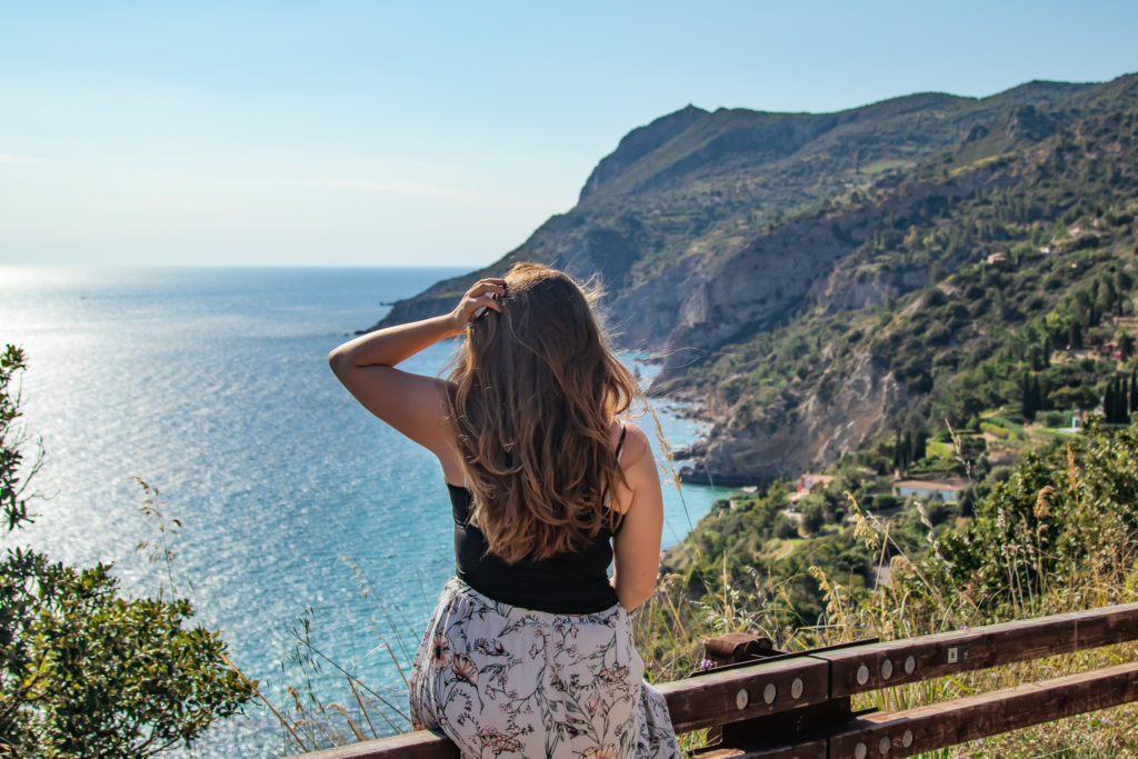 best places to visit in Tuscany Italy: panoramic road viewpoints in Monte Argentaria