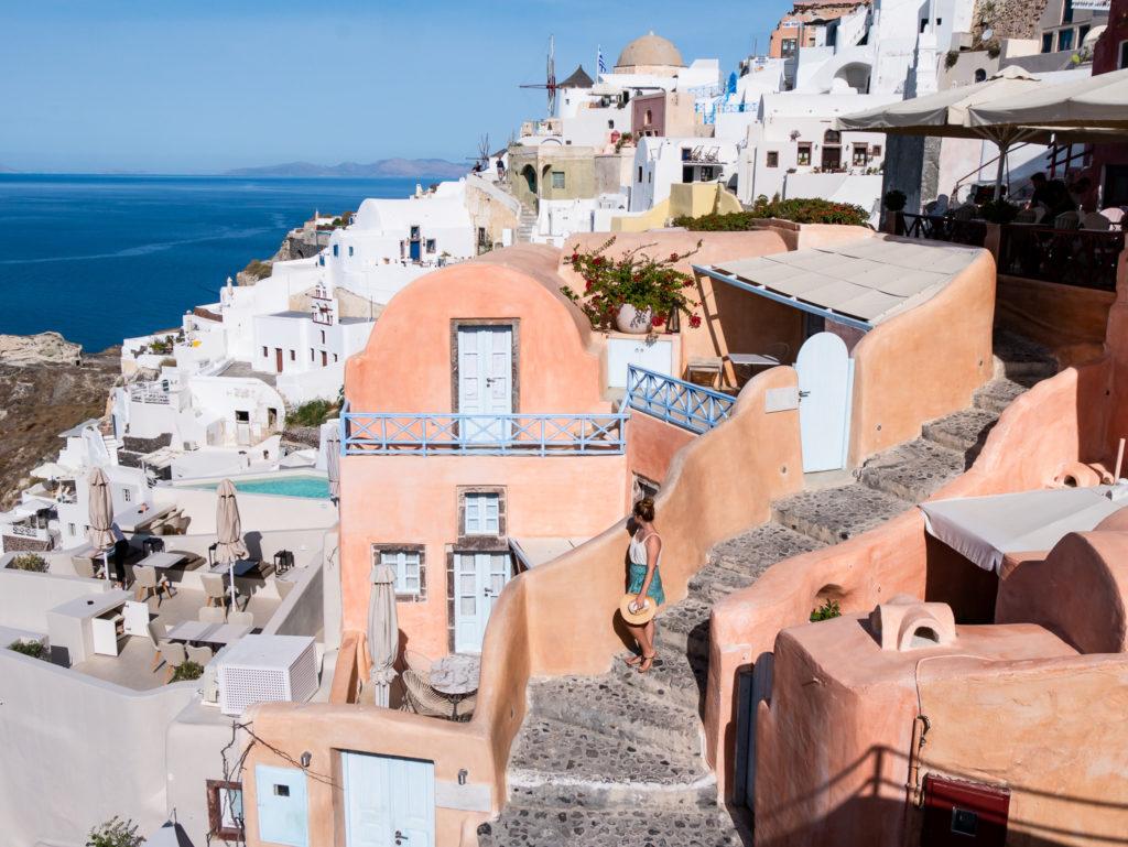 Things to do in Santorini greece: Kastro