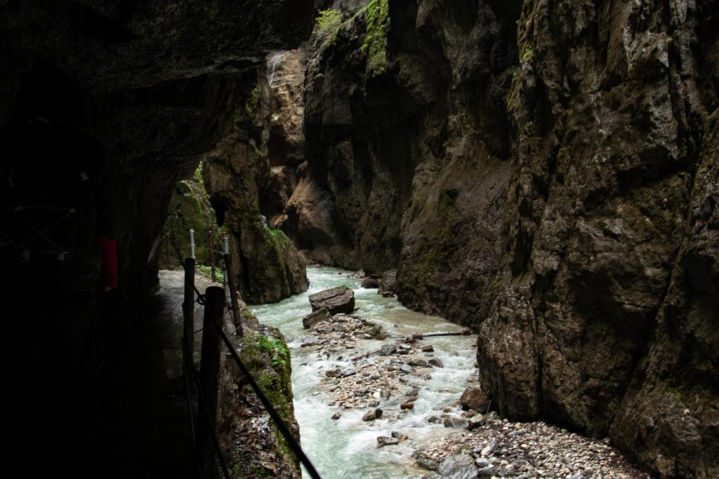 stream through the gorge