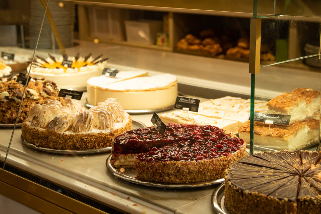 cakes in Cafe Kroenner: best things to do in bavaria