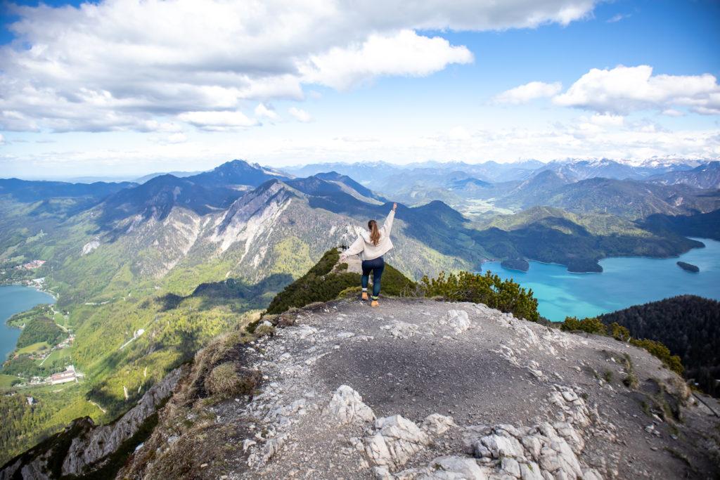 peak of the herzogstand: travel guide to Garmisch-Partenkirchen