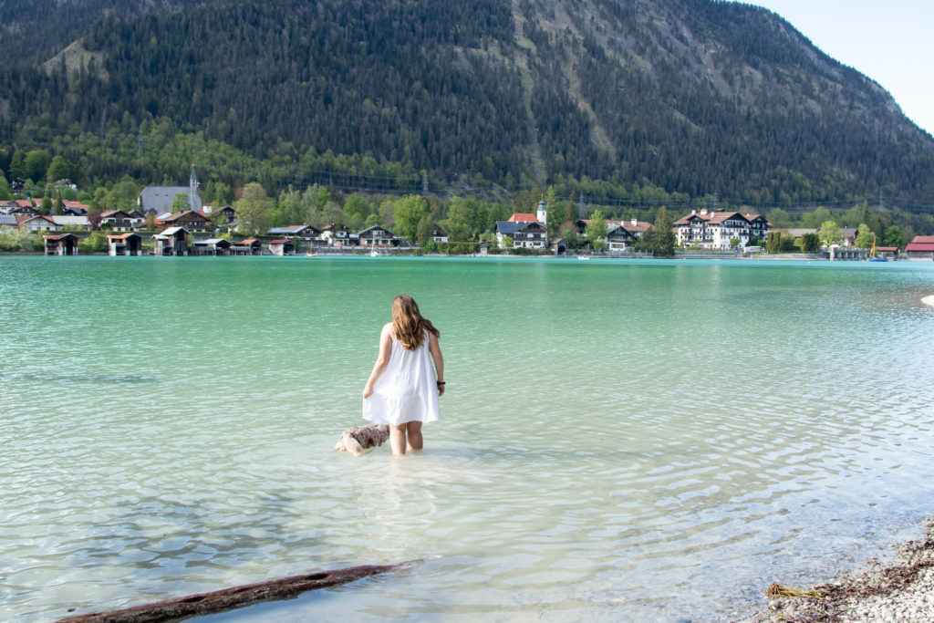 the bet things to do in bavaria: swim in alpine lakes