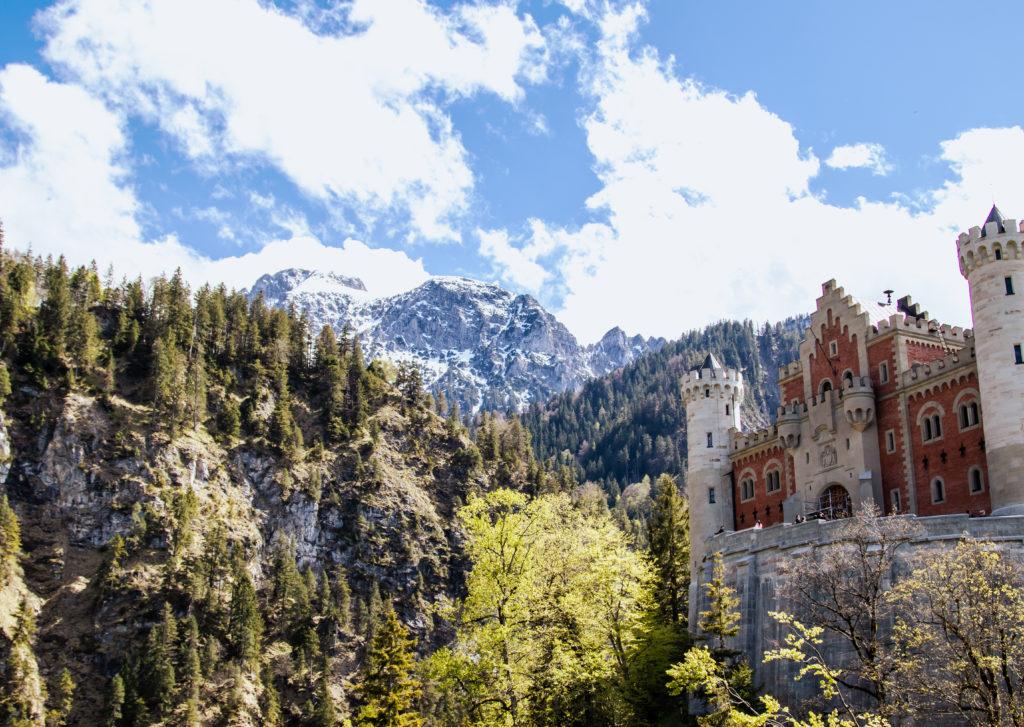 Neuschwanstein castle: one of the best things to do in Garmisch-Partenkirchen