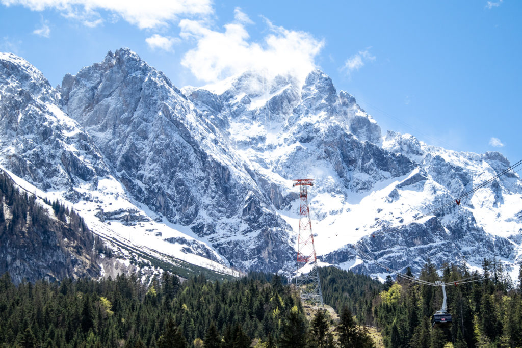 best things to do in bavaria: visit the Zugspitze