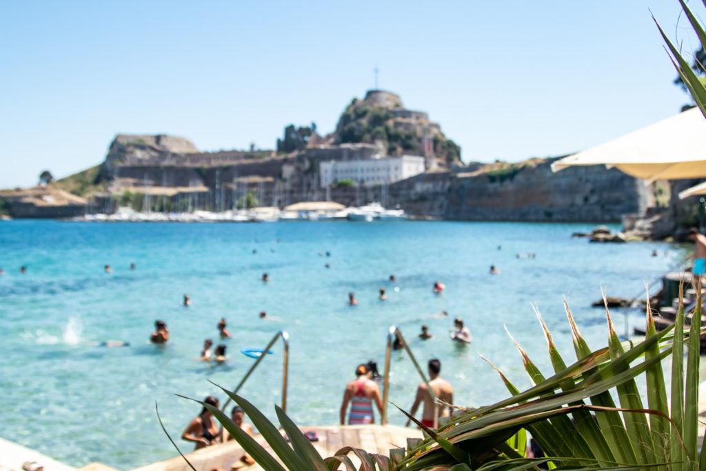 the best things to do in Corfu: : Swim at Imabari Bar