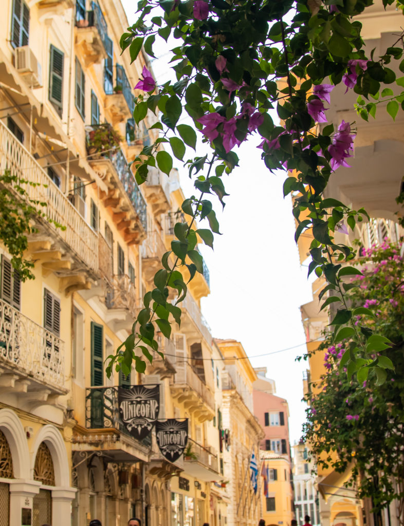the best things to do in Corfu: Stroll the streets of Corfu Town