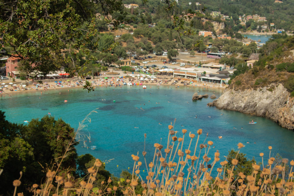 the best things to do in Corfu: Agios Spiridon Beach