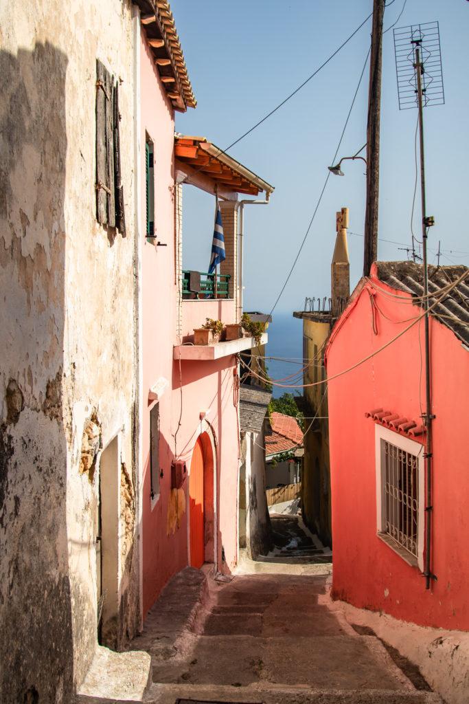 Corfu Greece Travel Guide: Walk through lakones